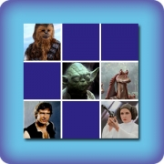 Movie Star Wars memory game
