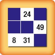 Memory game for seniors - Numbers - online and free