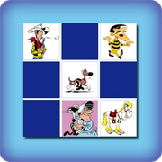 Memory game for kids - Lucky Luke - online and free