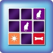 Memory game for kids - stencil