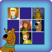 Memory game for kids - Scooby-Doo - online and free