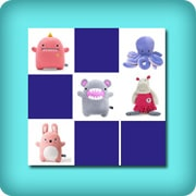 Memory game for toddlers - Soft toys