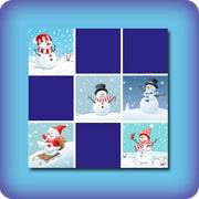 Jeu de Noël bonhomme de neige