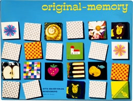 Original memory - Ravensburger - First edition in 1959