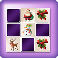 Giant Christmas memory game