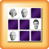 faces memory game for elderly