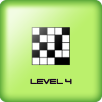 black squares game for kids adults level 4