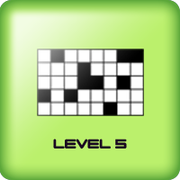 black squares game for kids adults level 5