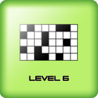 black squares game for kids adults level 6
