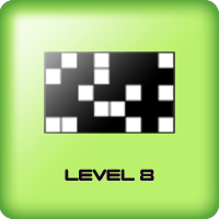 black squares game for kids adults level 8