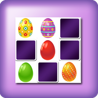 Giant memory eggs game