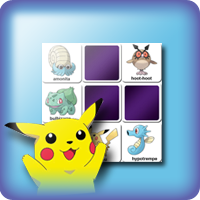 Pokemon cards memory game