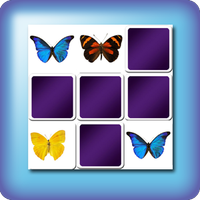 memory game butterflies
