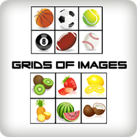 games of grids of images
