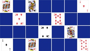 memory adults cards games