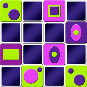 memory game shapes for adults