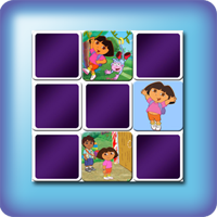 Dora The explorater Memory games for kids