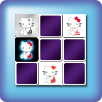 Hello Kitty Memory games for kids