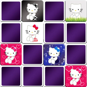 memory game Hello Kitty