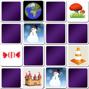 memory game pretty images