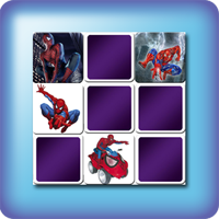 Spiderman Memory games for kids