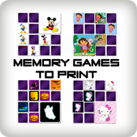Memory Games to Print