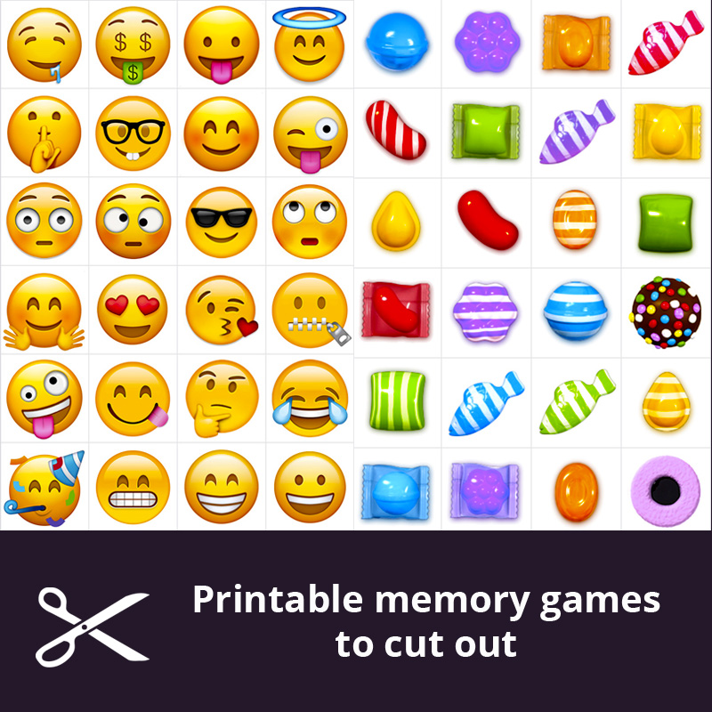 image regarding Printable Memory Games for Seniors identified as Totally free printable memory video games