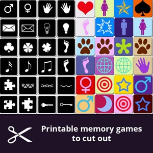 Printable and free memory games for adults