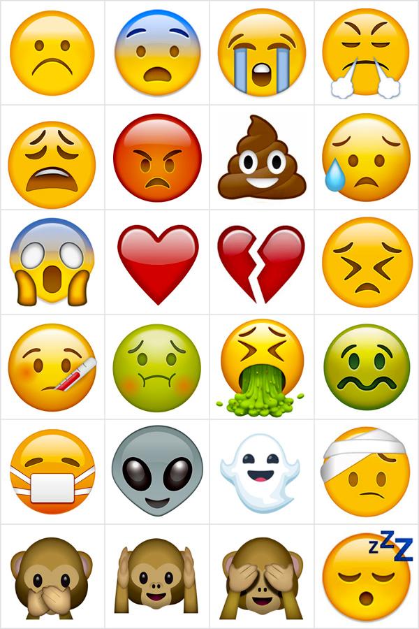 Jeu De Memory A Imprimer Avec Des Emojis 2 Imprimez Et