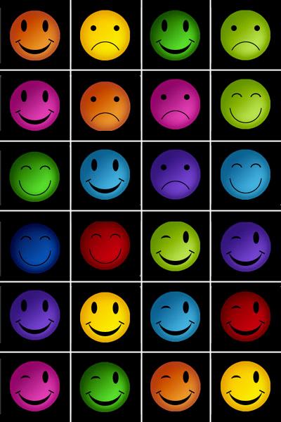 Jeu De Memory A Imprimer Smileys Imprimez Et Decoupez Les Cartes