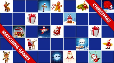 Free online memory games Christmas