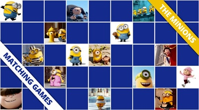 Free online memory games The Minions