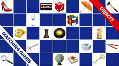 Free online memory games objects