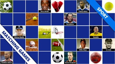 Free online memory games sport