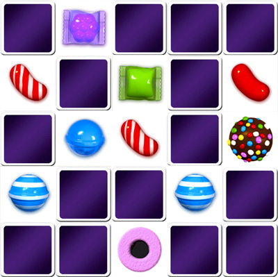 Big Memory game Candy Crush