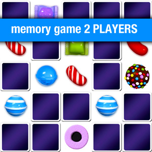 Memory games for 2 players