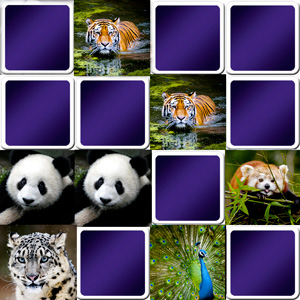 memory game asian animals