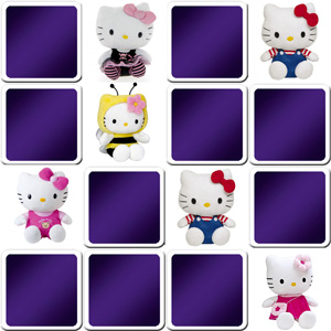 memory game Hello Kitty for kids