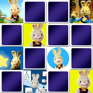 memory game for toddlers Harry the bunny