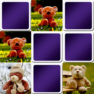 memory game for toddlers teddy bears