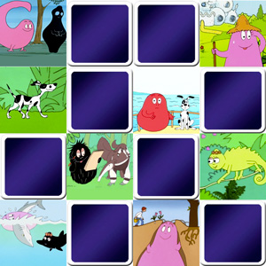 memory game barbapapa