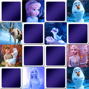 Memory game for kids - Frozen 2