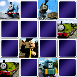 memory game for toddlers Thomas and friends