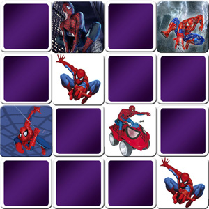 memory game Spiderman