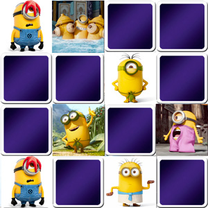 Funny memory game The minions