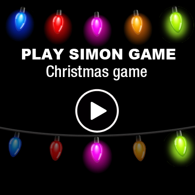 Simon game - Christmas tincel
