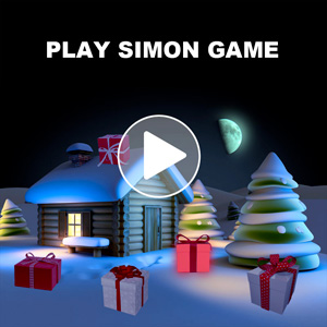 Simon game - Christmas presents