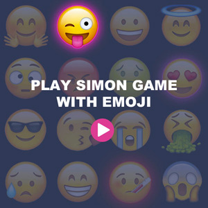 Simon game - emoji
