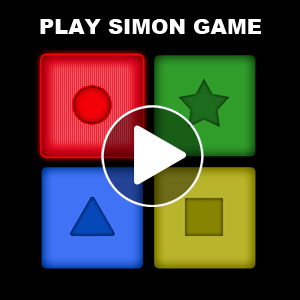 Simon game for babies