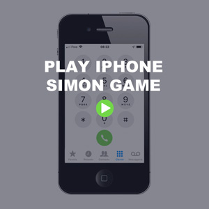 Simon game - Iphone keyboard